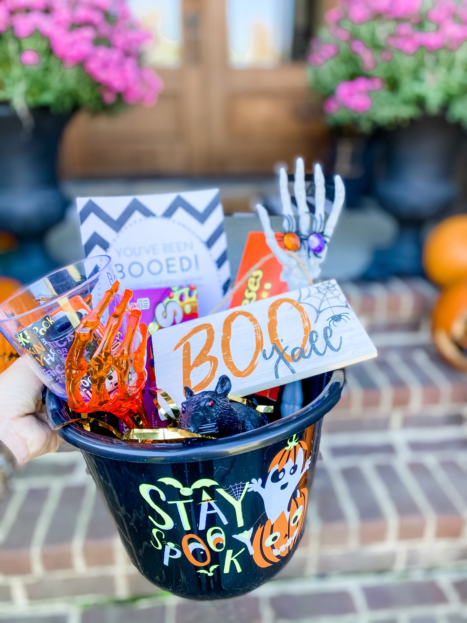 SPREAD SOME HALLOWEEN CHEER WITH BOO BUCKETS!