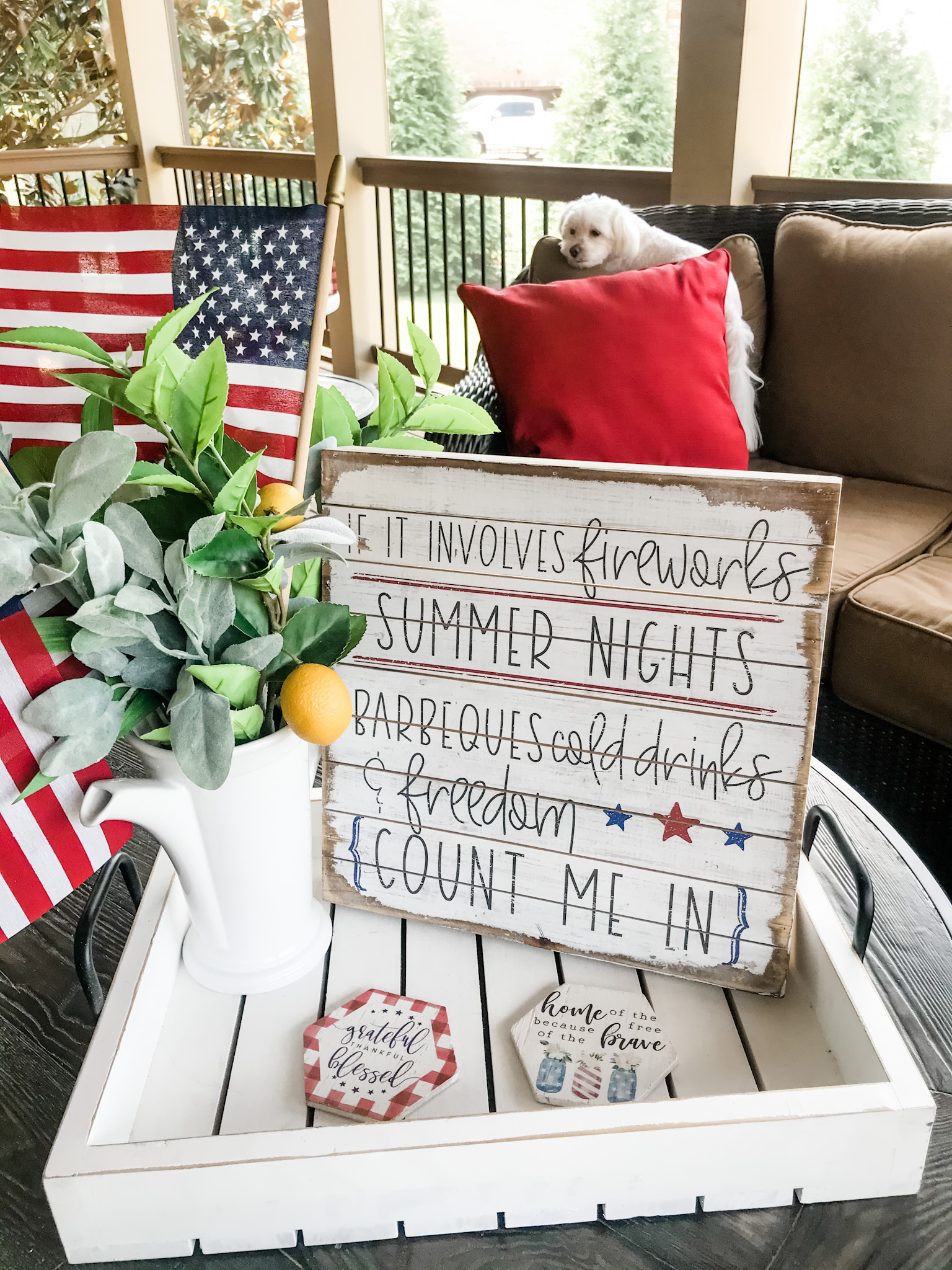 RED, WHITE, AND BLUE SUMMER